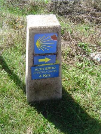 Carrera Roncesvalles Zubiri 2006 mojon 4km alto erro mini