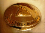 under 30h leadville 100 miles trail run buckle mini