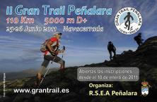 Cartel del Gran Trail Peñalara 2011