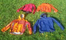 Opciones chaqueta ligera: Goretex paclite, clon gore, desmontable windstopper, cortavientos