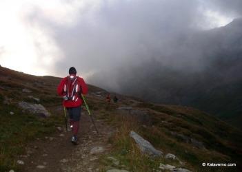 Corriendo UTMB 2009: Error por elegir un cortavientos insuficiente