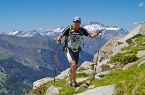 bastones trail running y ultra trail fotos