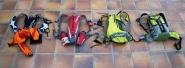 Mochilas de trail running habituales en los ultra trails