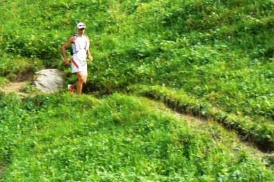 utmb 2011 kilian jornet líder al paso por trient mini