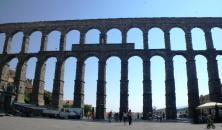 Meta de los 100KM Madrid Segovia