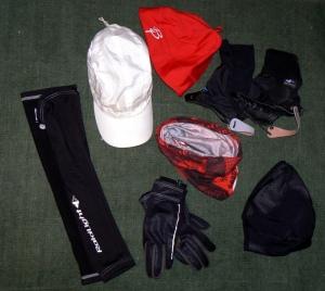 Tres Capas Montaña: Kit accesorios protección térmica.