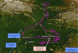 Mapa carrera Boca del Infierno
