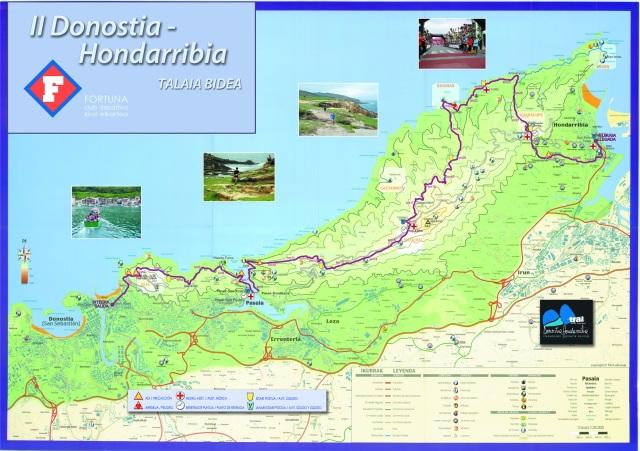 Mapa Talaia Bidea