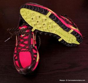Brooks cascadia 8. Peso 330gramos Zapatillas trail