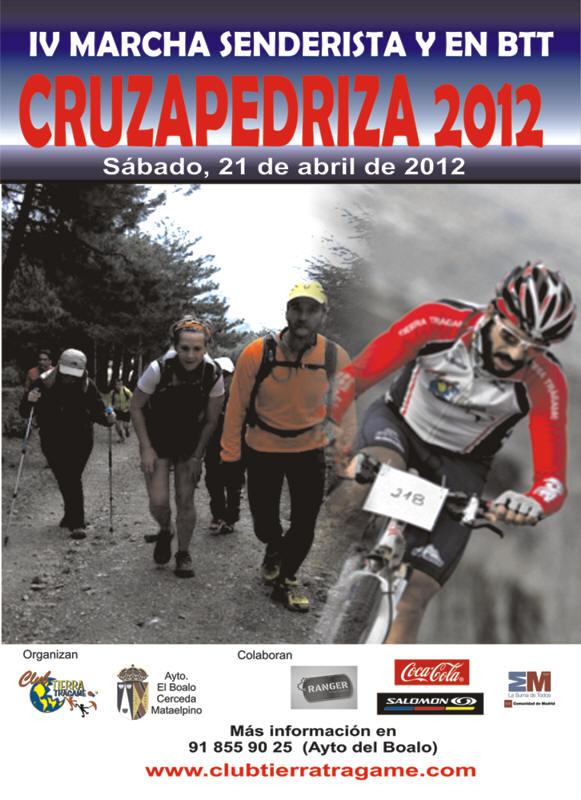 Cruza pedriza 2012