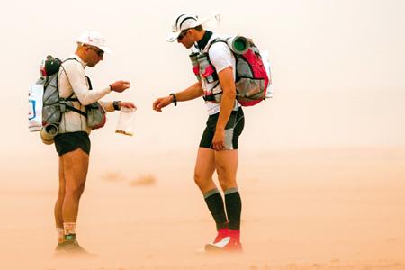 marathon des sables 2012 corredores