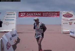 Marathon des Sables 2012. Marco Olmo 15º puesto a sus 63 años.
