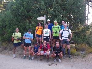 100 km Madrid Segovia 2011: Entrenos en grupo previos a la carrera.