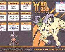 Los 101 de ronda: Pasaporte Legionario