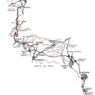 100 km Madrid Segovia 2012 Mapa de carrera