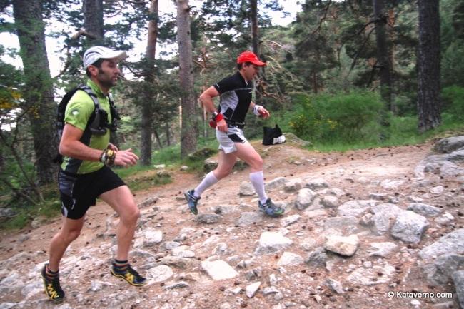 Corredor de montaña: Chelis Valle y Mayayo cercedilla
