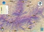 Gran Trail Peñalara 2012 Mapa de carrera