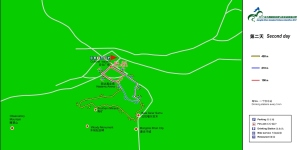 Trail running mongolia: Grassland extreme marathon mapa