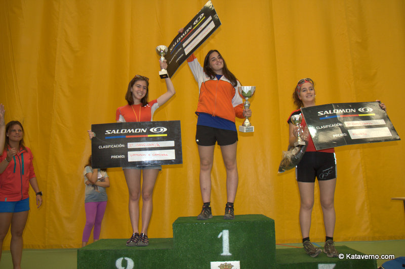 Salomon Junior Team vecedores femeninos minimam