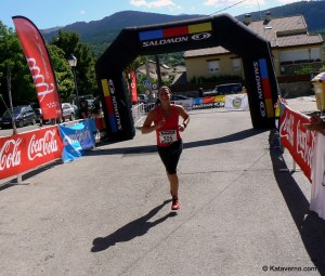 Damia Dankevoort meta Cross Alpino Telégrafo