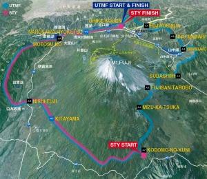 ultra trail monte fuji recorrido