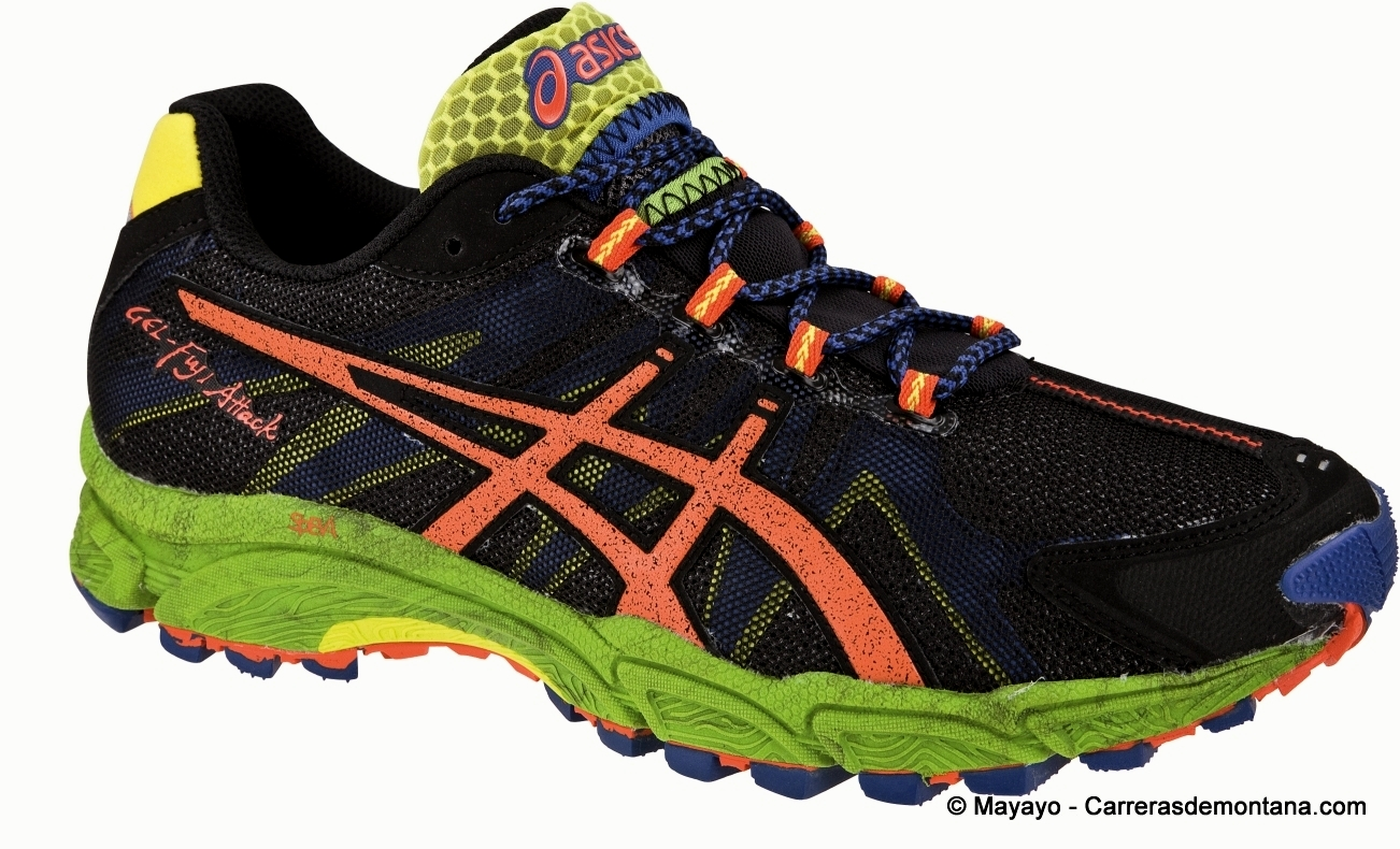 Zapatillas asics running 2014 zapatillas running asics gel - Zapatillas Trail Asics Gel Fuji Attack 100 316 G La