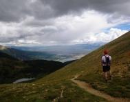 Leadville 100 Miles fotos photos hope pass (3800m) hacia twin lakes