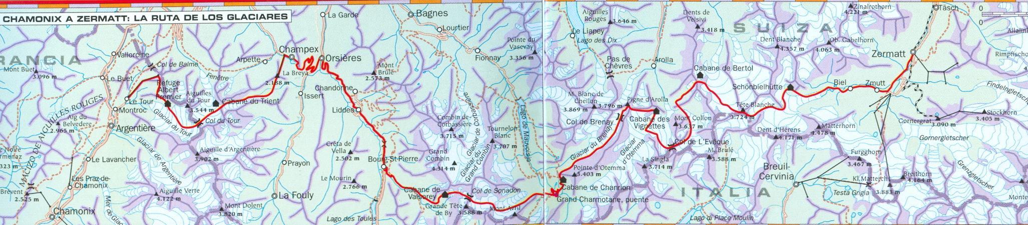 Iker karrera haute route chamonix zermatt new skyrunning for Haute route chamonix zermatt