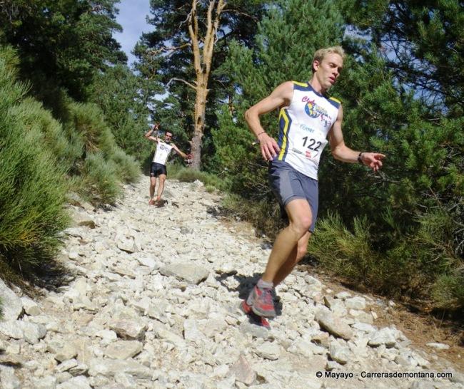Carrera de Las Dehesas 2012: Robert Nieuwland y Juanma Agejas bajando Marichiva.