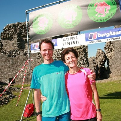 Ganadores Dragon Back race 2012: Helen Whitaker y