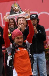 Tor des Geants 2012 Oscar Perez Lopez campeon 75h56m