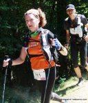Teresa Farriol en GRP12 donde hizo una gran carrera llegando a meta en el pelotón de cabeza tras recorrer 154k de Alto Pirineo.
