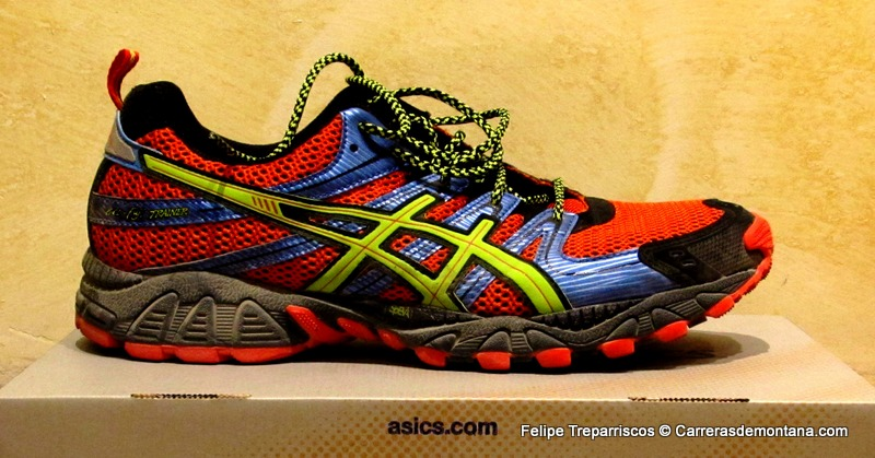 trail running asics