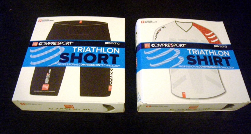 Compressort: Ropa compresora Triathlon Short y Triathlon Shirt