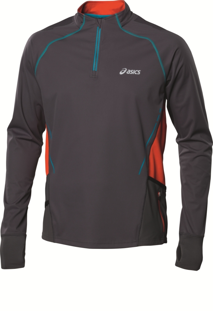 running asics ropa trail running camiseta manga larga
