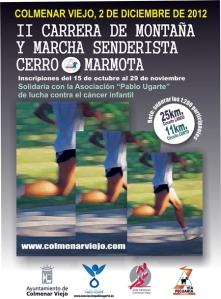 Cartel Carrera Cerro Marmota 2012