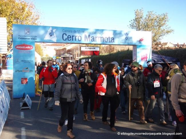 Salida marcha cerro marmota 2012. Foto: Carlos Velayos