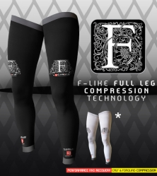 Medias compresión Compressport full leg (120gr/84€)