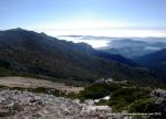 Ruas Trail Guadarrama: Panorma Cuerda Cabrillas desde Cafetería esquí