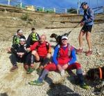 Rutas trail Guadarrama: Descanso en el pto Navacerrada a la bajada