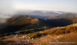 Rutas Trail Guadarrama: Maraton Alpino Bandolero: Panorámicas de la Meseta al amanecer.