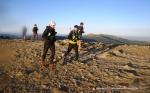 Rutas Trail Guadarrama: Maraton Alpino Bandolero.  Bajada de Bola del Mundo al pluviómetro.