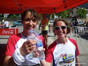Mujeres que corren: Corredoras del Club Tierra Trágame enel Maratón Alpino Madrileño 2012
