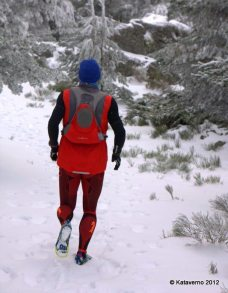 Hoko mallas trail running invierno mayayo