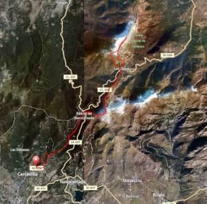 Rutas Trail Guadarrama: Maraton Alpino Bandolero, recorrido completo