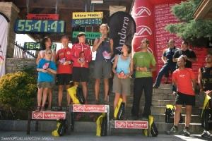 Mujeres que corren Nerea Martinez podio Ronda dels Cims Andorra 2012. Foto: Org.