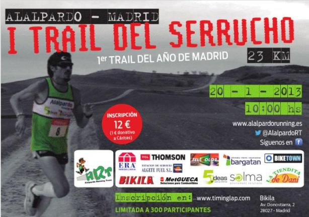 trail serrucho 2012 cartel