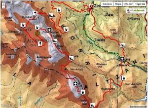 Zegama Aizkorri 2013 mapa