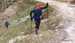 Bastones Raidlight Carbono. km70 Desafío Cantabria. Refugio Aliva (Picos)
