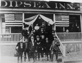 Foto de la  Dipsea Trail Race 1910. (org.)